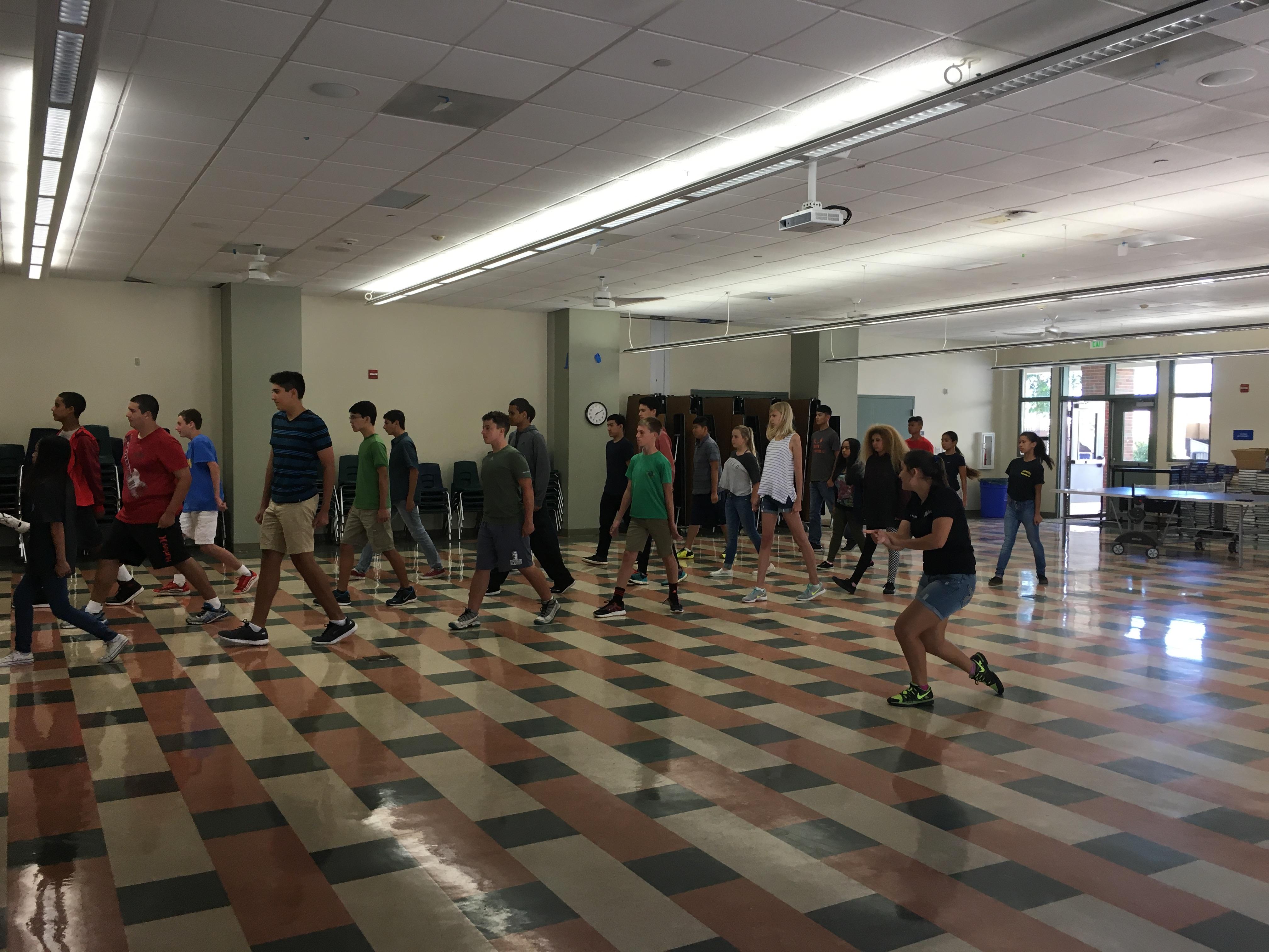Paloma Valley High School NJROTC Instruction